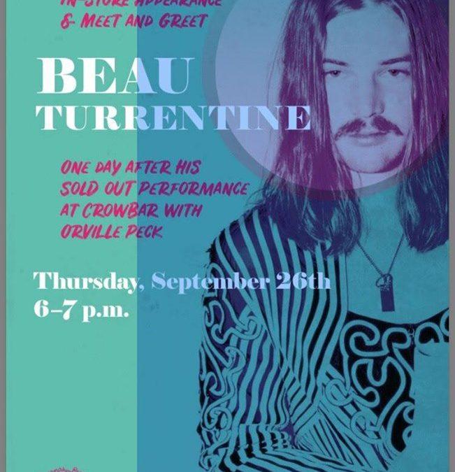 Beau Turrentine Live!