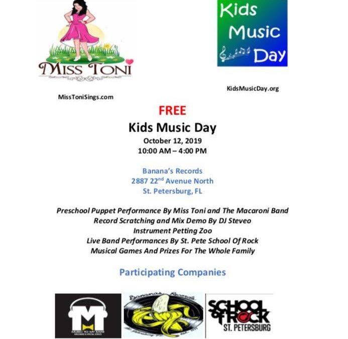 4th Annual Kids Music Day!