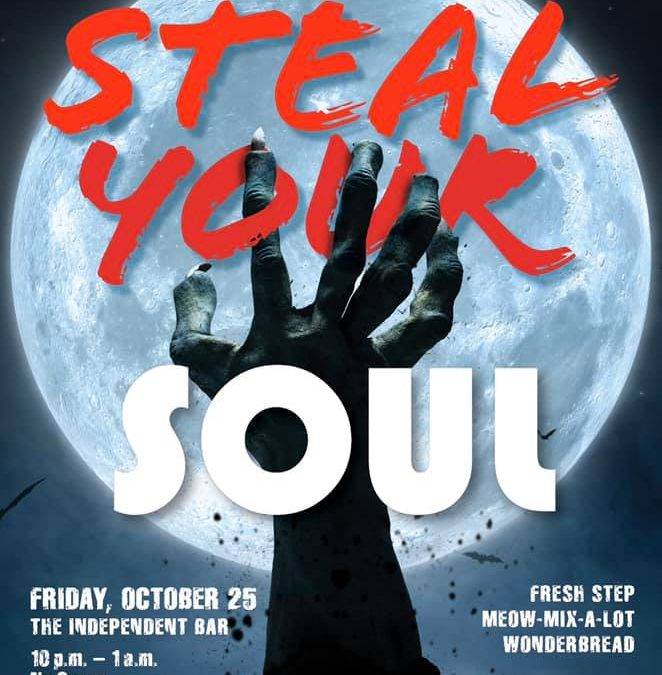 Steal Your Soul – Halloween get together at the Independent Bar